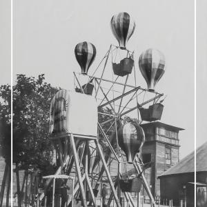 Ballongyngen i Tivoli 1 - Gamle billeder af København plakat
