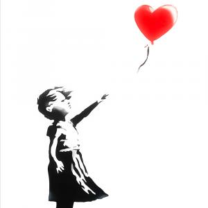 Balloon Girl - Banksy plakat
