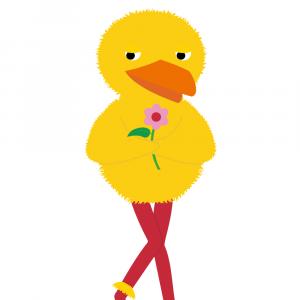 Bamse og Kylling plakat - Kylling - Værsesgo