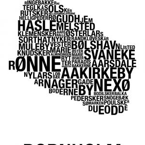 Bornholm plakat - By plakat