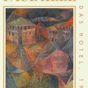 Das Hotel - Paul Klee Kunstplakat