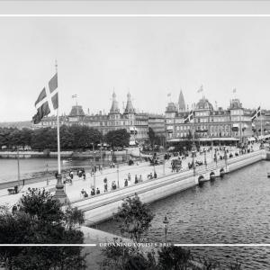 Dronning Louises bro - Gamle billeder af København plakat