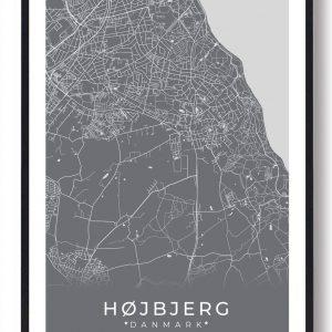 Højbjerg plakat - grå