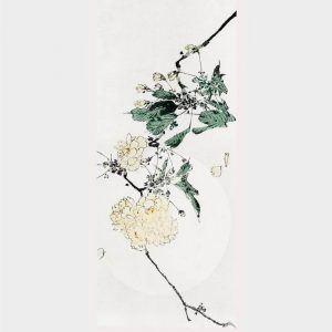 Japanese cherry blossom - Japansk kunst plakat
