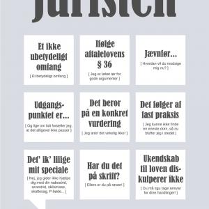 Juristen plakat