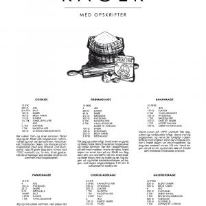 Kage guide plakat - De klassiske opskrifter