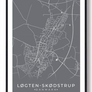 Løgten Skødstrup plakat - grå