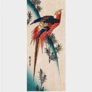 Majestically pheasant - Japansk kunst plakat