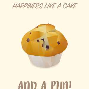 Muffin spreads happiness