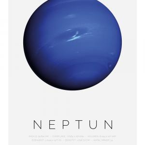 Neptun - Planet plakat