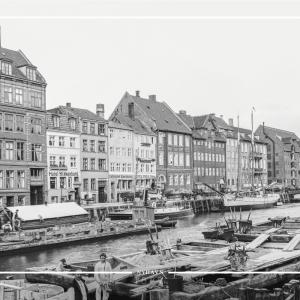 Nyhavn - Gamle billeder af København plakat
