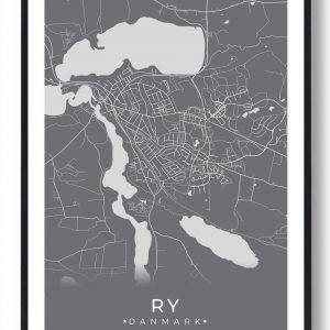 Ry plakat - grå