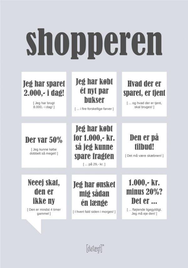 Shopperen plakat