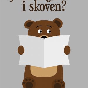 Skider bjørnen i skoven?