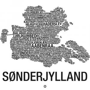 Sønderjylland plakat - By plakat