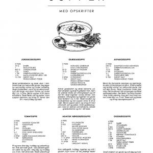 Suppe guide plakat - De klassiske opskrifter