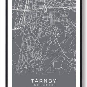 Tårnby plakat - grå