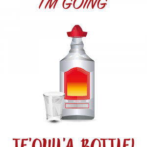 Te'quil'a bottle