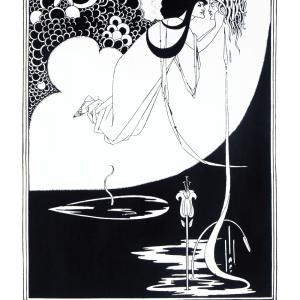 The Climax - Aubrey Beardsley kunstplakat