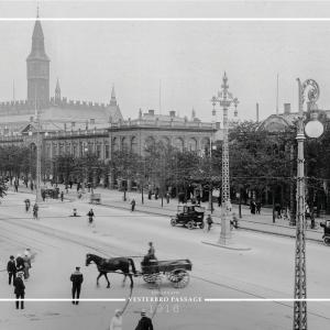 Vesterbro Passage - Gamle billeder af København plakat