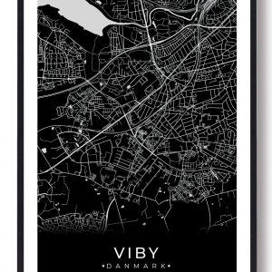 Viby J plakat - sort