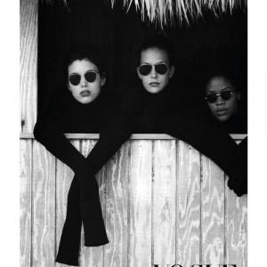 Vogue models plakat