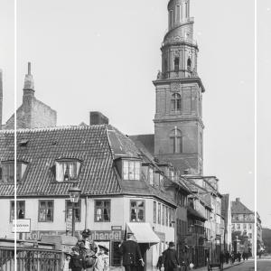 Vor Frelser Kirke - Gamle billeder af København plakat