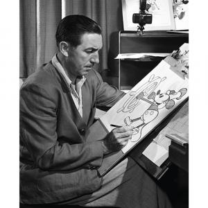 Walt Disney - Plakat