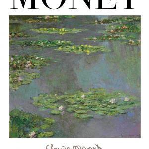 Water lilies - Claude Monet kunstplakat