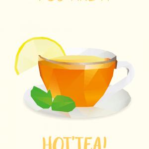 You are a hot'tea