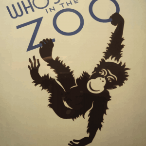 Zoo plakat - Abe