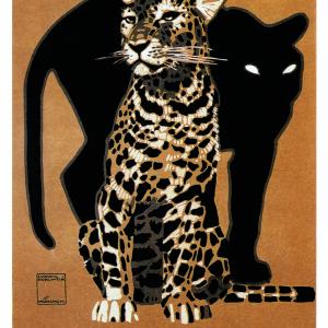 Zoo plakat - Leopard