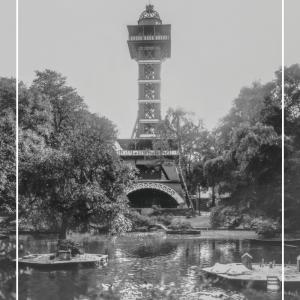 Zoo tårnet - Gamle billeder af København plakat