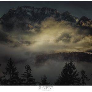 Zugspitze - Brian Lichtenstein plakat