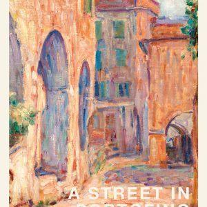 A street in Portofino - John Peter Russell kunstplakat