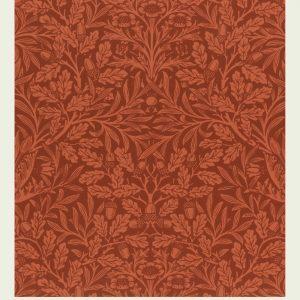Acorns and oak - William Morris kunstplakat