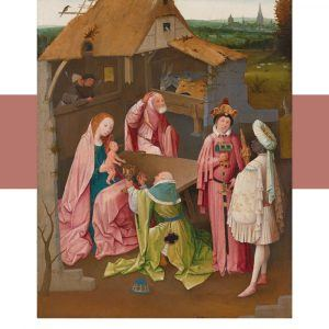 Adoration of the magi - Hieronymus Bosch museumsplakat