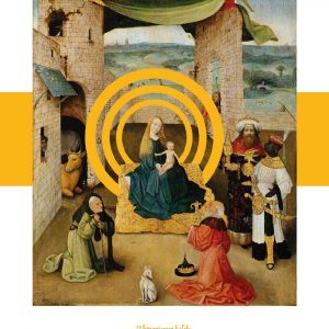 Adoration of the magi ll - Hieronymus Bosch museumsplakat