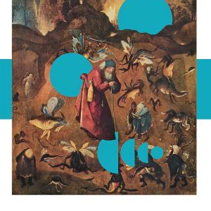 Anthony with monsters - Hieronymus Bosch museumsplakat