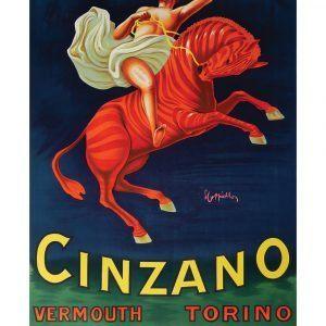Cinzano - Leonetto Cappiello kunstplakat