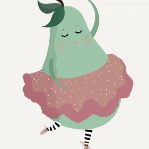 Den dansende pære - Børneplakat
