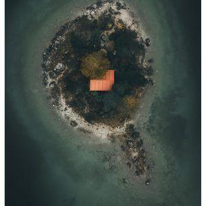Island life - Brian Lichtenstein plakat