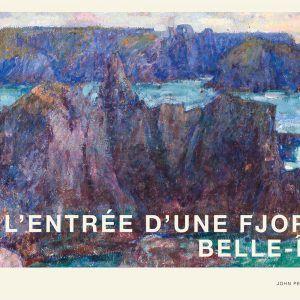 L'entrée D'une Fjord - John Peter Russell kunstplakat