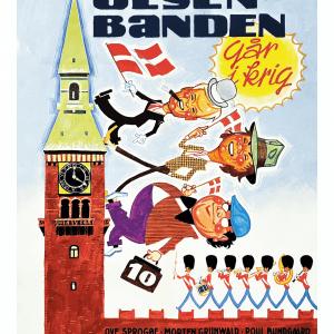 Olsen Banden går i krig - Filmplakat