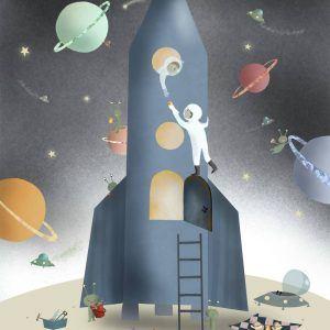 Planet picnic - Tælle plakat
