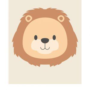 Stjernetegn løven - Børneplakat