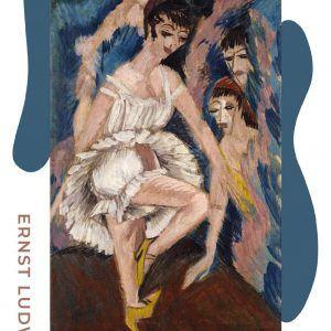 Tänzarina - Ernst L. Kirchner museumsplakat