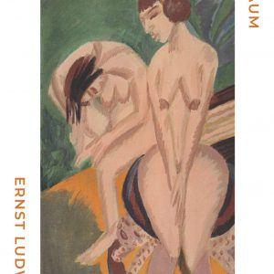Zwei akteim raum - Ernst L. Kirchner museumsplakat